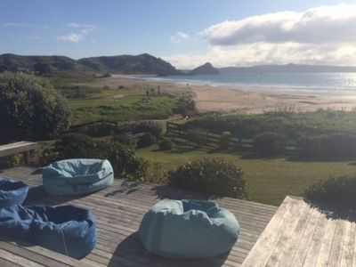 Photo for Beach Front Holiday Home - Ideal for Two Families