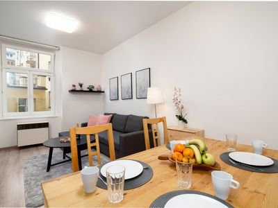 Photo for Luminous Calm City Center Apartment CZPR75 - Apartment for 4 people in Praha