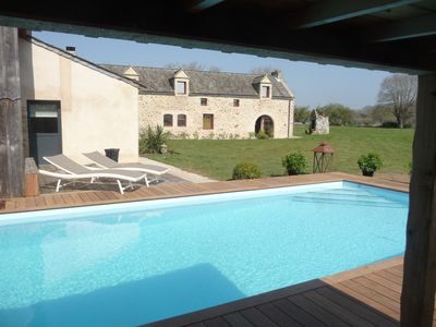 Photo for The Pré Verdine, luxury 5-star cottage, voted the most beautiful cottage in France, near the gulf