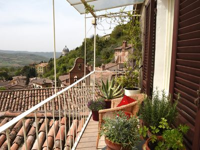 Photo for Charming Medieval Townhouse with Breathtaking Views in the historic centre Todi