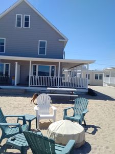 Photo for 5 Bedroom Ocean Front Cottage On Beautiful North Salisbury Beach!