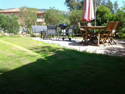 Photo for Ground floor of villa / near beach Porticcio / Agosta