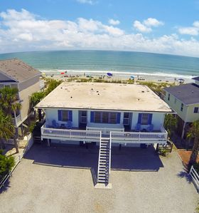 Photo for Almost Heaven OCEANFRONT D Stay ON Beach! Pet Friendly Free WiFi