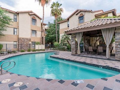 Photo for Biltmore Bliss Condo ~ Dakota at Camelback ~ Heated Pool, Spa, Fitness Center