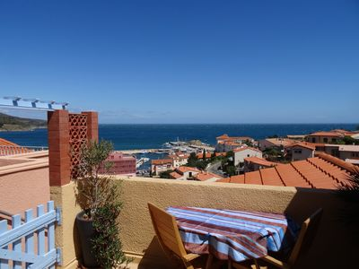 Photo for Beau T2 comfortably Large terrace with beautiful seaview Parking