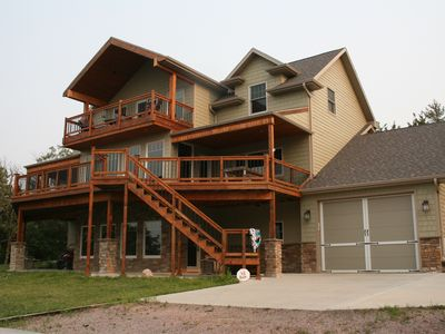 Photo for Newly Built, Spacious 3 Story, Family Friendly Lake View Home.