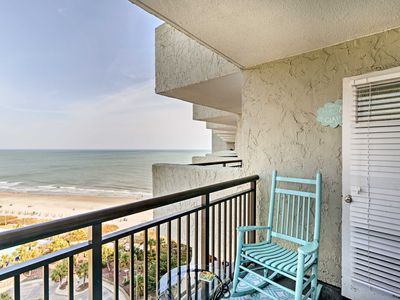 Photo for Cozy Myrtle Beach Resort Condo - Steps from Beach!