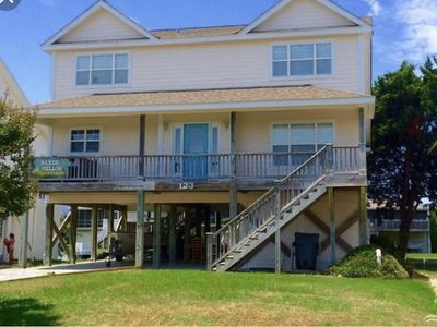 Photo for Beautiful Canal Front Home Just Steps to the Beach! Boating, fishing & sun!