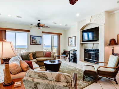 Photo for Gulf front home w/ private pool & sundeck, WiFi, free beach equipment rentals!