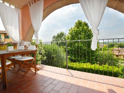 Photo for Arco Bianco, 2 bedrooms with terrace and pool