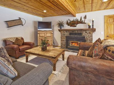 Photo for CedarCrest -  West Shore Cabin -  Remodeled w/ Hot Tub - Private HOA Beach
