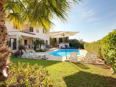 Photo for Villa Aphrodite's Rock a Fab 3 bed detached villa with pool in great location!