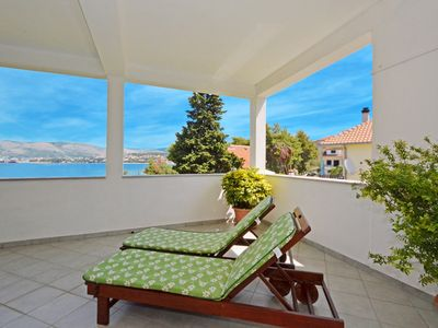 Photo for DOROTEA 2 - luxury apartment for 6 + 1 persons, 50m from the pebble beach