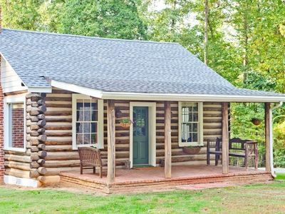 Photo for Luxurious Log Cottage/Cabin, In The Heart Of Wine Country