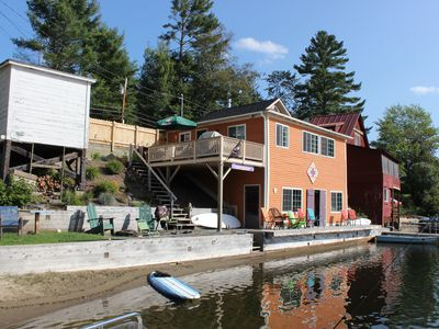 Photo for The Lower Deck - waterfront camp rental in Vermont