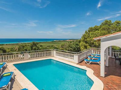 Photo for Villa w/ stunning sea views short drive to the neigbouring towns