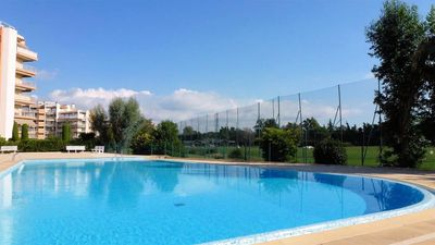 Photo for SWIMMING POOL AND GOLF VIEW - F2 54m2 - 4 Pers - QUIET - WIFI - ALL ON FOOT