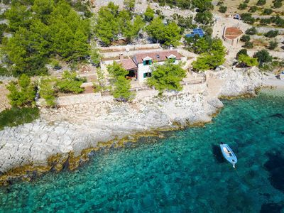 Photo for DREAM!!Detached holiday home in its own bay on the seafront at 130,000 square meters