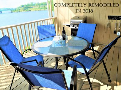 Photo for NICEST modern remodeled condo. Elevator building with a free 30 feet boat slip!