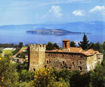 Photo for Umbria - Sant'Arcangelo's Abbey on Trasimeno Lake