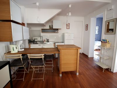 Photo for Downtown Biarritz │ Beautiful modern apartment 4 people ·  Beach on foot