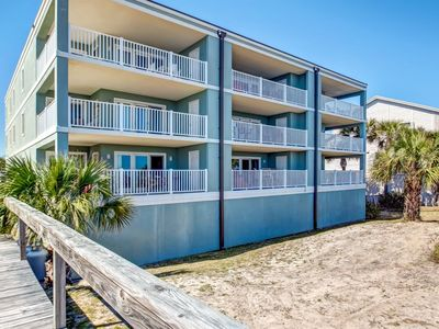 Photo for Located on the North end of Tybee Island, this lovely 3 bedroom, 3 full bath condo sleeps 8 comforta