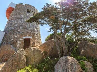 Photo for Romantic Old Middle Ages Tower at Sardinia Coast