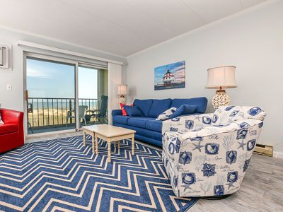 Well maintained 1 BR, 1.5 BA oceanfront condo. Enjoy the beautiful ocean views from your balcony and inside the unit.