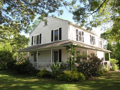 Enjoy this colonial 1 1/2 miles from town!