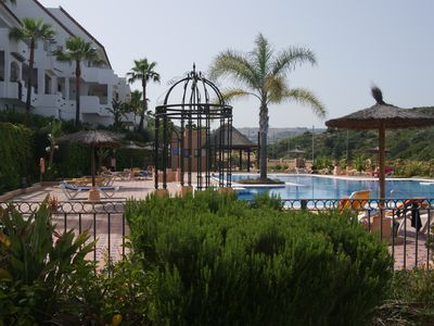 Photo for Beautiful luxury apartment - 5 pools - WI FI - quiet - large terrace