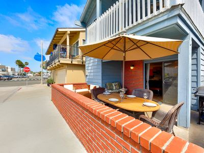 Photo for 10% OFF AUG - Beach Home w/ Large Front Deck, Steps to Beach, Walk to All