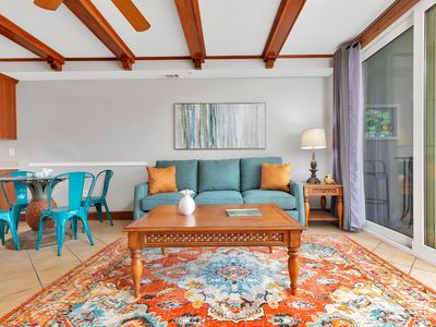Photo for Ocean View Condo with Pools, Directly Beachfront Resort, On-Site Restaurant and Bar, Pet Friendly