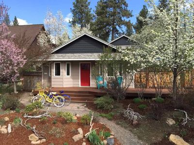 Photo for Westside Walkable | Hot Tub | Dog Friendly | 4 Bikes | Close to Breweries/Food