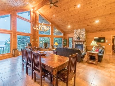 Photo for Amazing Ocean Views Sleeps 8 guests with spacious hilltop setting