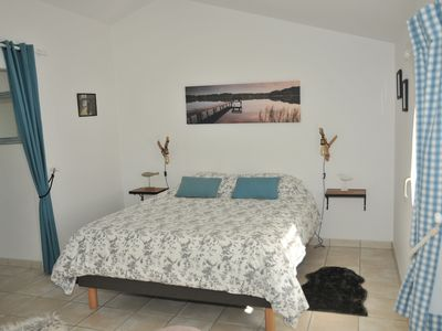 Photo for Bed and breakfast 4 people. Swimming pool. Sea and Countryside. Gaillet Room