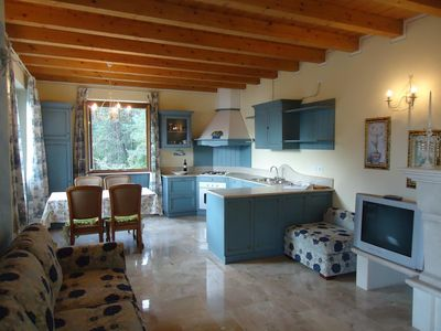 Photo for large apartment with great views in a quiet location, 200m to the lake, up to 5 pers.