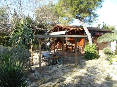 Photo for Pesy house: chalet with pool in a natural park. Oasis between the sea and the baroque.