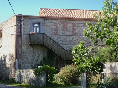 """Photo for Renovated Barn """"Lavande"""" with terrasse 50m2, 3km to the sea, peaceful on countryside"""