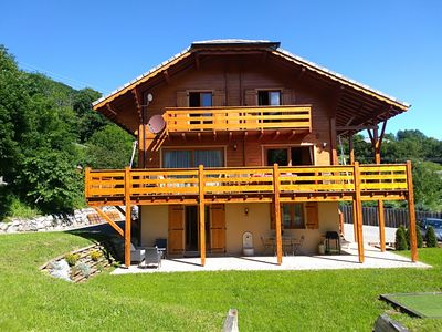 "Photo for Chalet ""le lys martagon"" furnished with tourism ** in full nature"