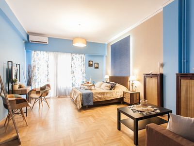 Photo for Beautiful Safe and central apartment near metro, walk to Acropolis