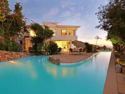 Photo for Luxury Staffed Beach Villa with Pool and WOW views