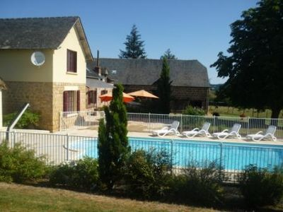 Photo for Large farmhouse restored with swimmingpool, beautiful surroudings