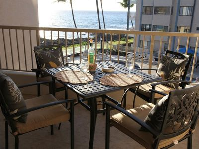 Photo for Remodeled 1 Bedroom Ocean View Condo- Free Wifi and AC - Walk to beach & town