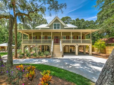 Photo for 5B Hickory Ln-Outdoor Living & Beautiful New Beach Home-200 yrds to the beach