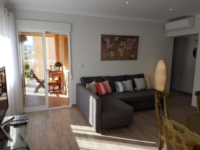 Photo for La Crehueta ´El Montgo´ Apartment - Immaculate three bedroom apartment on the Arenal of Jávea overlo