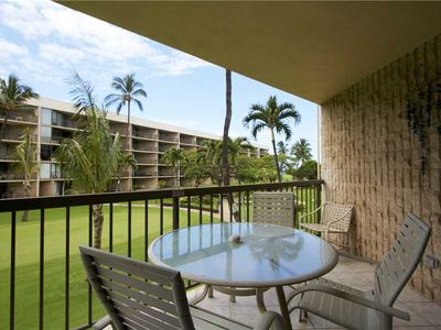 Photo for Maui Sunset large one bedroom condo sleeps 4. A-206