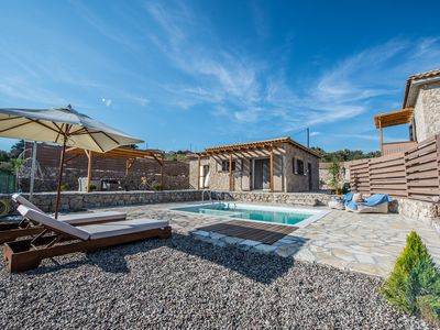 Photo for Villa DELTA deluxe villa with pool 5km from Lefkada
