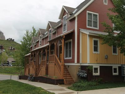 Photo for Cute and comfortable 2 BR in Pitchfork. Garage and right next to shuttle stop! 5th nt free