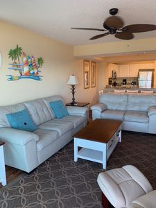 Photo for Newly Renovated 4 BR/3 BA Oceanfront Condo! 5th Floor! 60' 4K HDTV!
