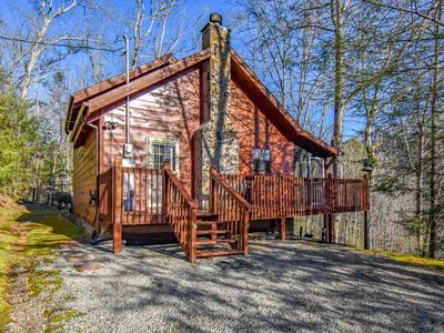 Photo for Secluded Cabin W/ Hot Tub and 25 Min. From Gatlinburg/PF